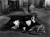 Way Out West, Oliver Hardy, Stan Laurel, 1937 Photo