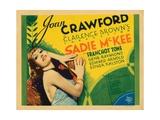 Sadie Mckee, Titlecard, Joan Crawford, 1934 Giclee Print