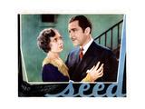 Seed, from Left, Lois Wilson, John Boles, 1931 Giclee Print