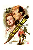 The Iron Mistress, from Left Top: Virginia Mayo, Alan Ladd; Bottom: Alan Ladd, 1952 Giclee Print