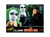 The Invisible Man, from Left: Claude Rains, Gloria Stuart, 1933 Giclée-tryk