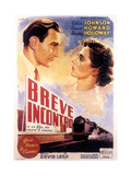 Brief Encounter, (AKA Breve Incontro), from Left: Trevor Howard, Celia Johnson, 1945 Giclee Print