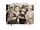 The Infidel, from Left: Boris Karloff, Joseph J. Dowling, Katherine Macdonald, Robert Ellis, 1922 Giclee Print