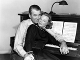 The Glenn Miller Story, James Stewart, June Allyson, 1954 Photo