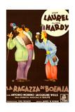 The Bohemian Girl, (AKA La Ragazza Di Boemia), Italian Poster Art, 1936 Giclee Print