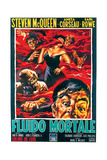 The Blob, Italian Poster Art, 1958 Giclee Print