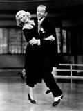 Sur les ailes de la danse, Ginger Rogers, Fred Astaire, 1936 Photographie