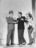 Broadway, from Left: Pat O'Brien, George Raft, Janet Blair, 1942 Photo