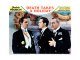 Death Takes a Holiday, from Left: Fredric March, Kent Taylor, Guy Standing, 1934 Giclee Print