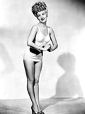 Betty Grable, in a Pin-Up Pose Taken by Frank Powolny in 1943 While Filming Sweet Rosie O'Grady Photo