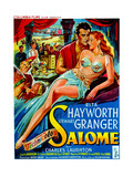 Salome, Stewart Granger (2nd from Right), Rita Hayworth (Right), (Belgian Poster Art), 1953 Giclee Print