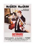 The Getaway, (AKA Ihre Chance War Gleich Null), 1972 Giclee Print