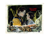 The Lost World, from Left, Lloyd Hughes, Bessie Love, 1925 Giclee Print