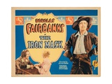 The Iron Mask, Titlecard, Douglas Fairbanks, Sr., 1929 Giclee Print