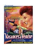 Summertime, (AKA Summer Madness), Katharine Hepburn, Rosanno Brazzi, 1955 Giclee Print