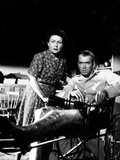 Rear Window, Thelma Ritter, James Stewart, 1954 Photo