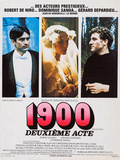 1900, French Poster Art, from Left: Robert De Niro, Dominique Sanda, Gerard Depardieu, 1976 Posters
