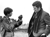 Kes, David Bradley, Colin Welland, 1969 Photo