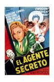 Secret Agent, Argentinian Poster Art, 1936 Giclee Print