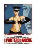 The Night Porter, (AKA Il Portiere Di Notte, AKA El Portero De Noche), Spanish Poster Art, 1974 Giclee Print