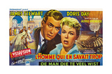 The Man Who Knew Too Much, (AKA L'Homme Qui En Savait Trop), 1956 Giclee Print