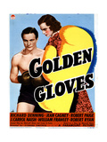 Golden Gloves, from Left, Richard Denning, Jeanne Cagney, 1940 Giclee Print
