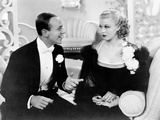 Top Hat, from Left, Fred Astaire, Ginger Rogers, 1935 Photo