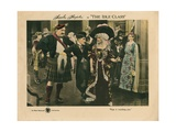 The Idle Class, from Left: Mack Swain, Charles Chaplin, Edna Purviance, 1921 Giclee Print