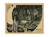 Salome, Alla Nazimova, Costumes and Art Direction by Natasha Rambova, 1922 Giclee Print