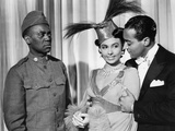 Stormy Weather, from Left, Bill Robinson, Lena Horne, 1943 Photo