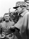Paths of Glory, from Left: Kirk Douglas, George Macready, 1957 Photo