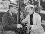 Hallelujah I'M a Bum, from Left: Harry Langdon, Al Jolson, 1933 Photo