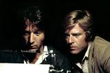 All the President's Men, Robert Redford, Dustin Hoffman, 1976 Photo