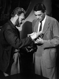 Roman Holiday, Eddie Albert, Gregory Peck, 1953 Photo