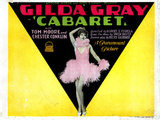 Cabaret, Gilda Gray, 1927 Photo