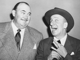 From Left: Paul Whiteman, Jimmy Durante, Late 1940s Photo