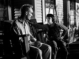 To Kill a Mockingbird, Robert Duvall, Mary Badham, 1962 Photo