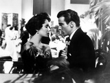 A Place in the Sun, Elizabeth Taylor, Montgomery Clift, 1951 Photo