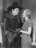 Destry Rides Again, from Left: Tom Mix, Claudia Dell, 1932 Photo