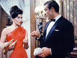 Dr. No, Eunice Gayson, Sean Connery, 1962 Photo
