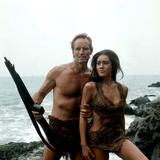 Planet of the Apes, Charlton Heston, Linda Harrison, 1968 Photo