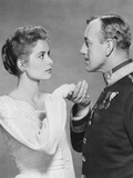 The Swan, from Left: Grace Kelly, Alec Guinness, 1956 Photo