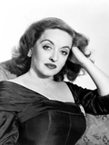 All About Eve, Bette Davis, in a Gown by Edith Head, 1950 Photo