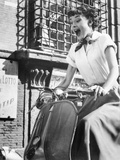 Roman Holiday, Audrey Hepburn, 1953 Photographie