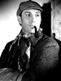 The Hound of the Baskervilles, Basil Rathbone, 1939 Photo