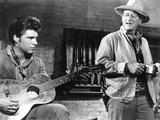 Rio Bravo, Ricky Nelson, John Wayne, 1959 Photo
