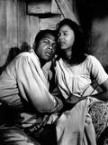Porgy and Bess, Sidney Poitier, Dorothy Dandridge, 1959 Photo