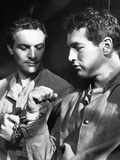 Somebody Up There Likes Me, Robert Loggia, Paul Newman, 1956 Photo