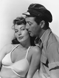The Bribe, from Left: Ava Gardner, Robert Taylor, 1949 Photo