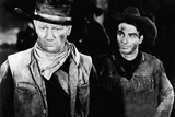 Red River, John Wayne, Montgomery Clift, 1948 Photo